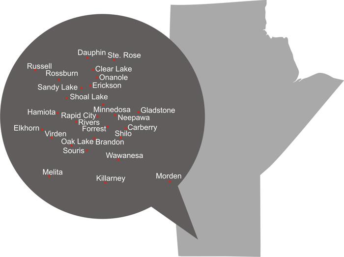 Manitoba-Map